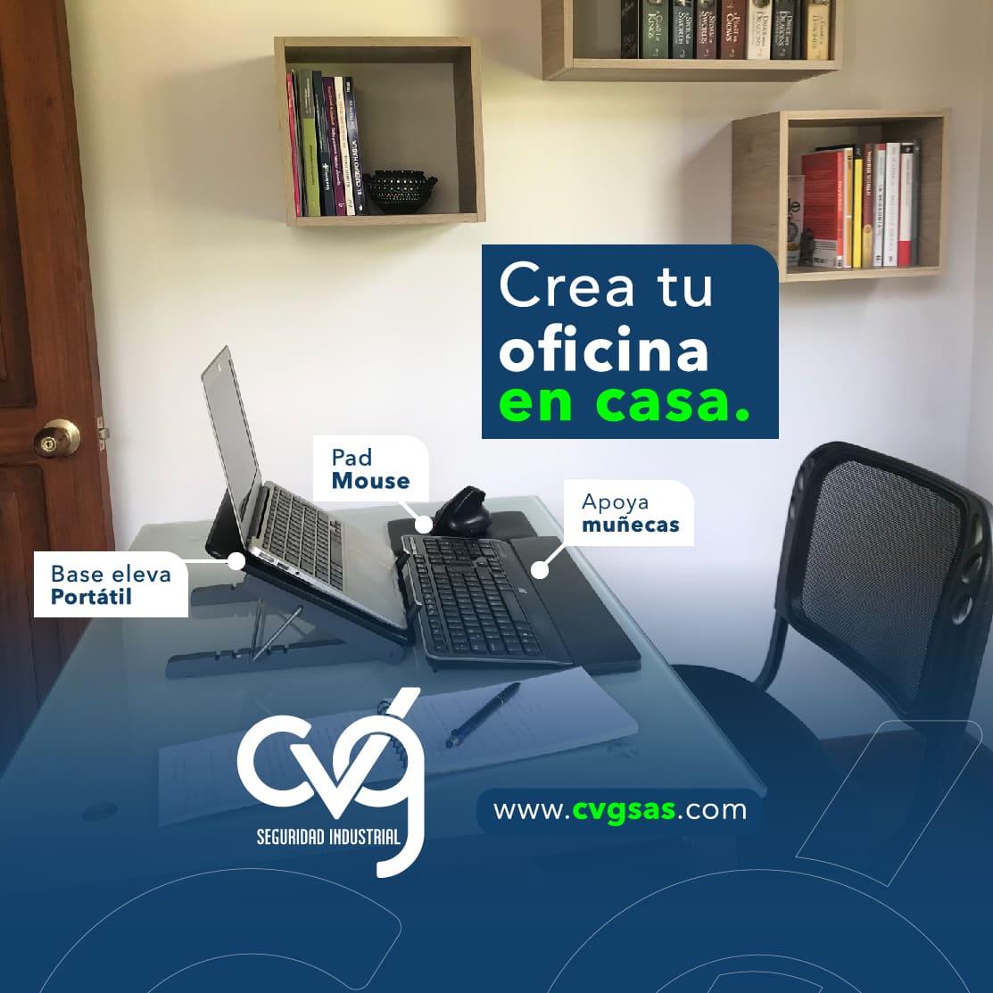 Crea tu Oficina en Casa CVG